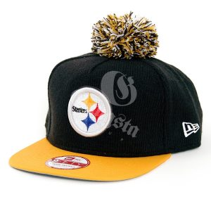 New Era 9Fifty Bobble Game Pittsburgh Steelers Snapback Black Yellow – S–M e52bbcfba8f