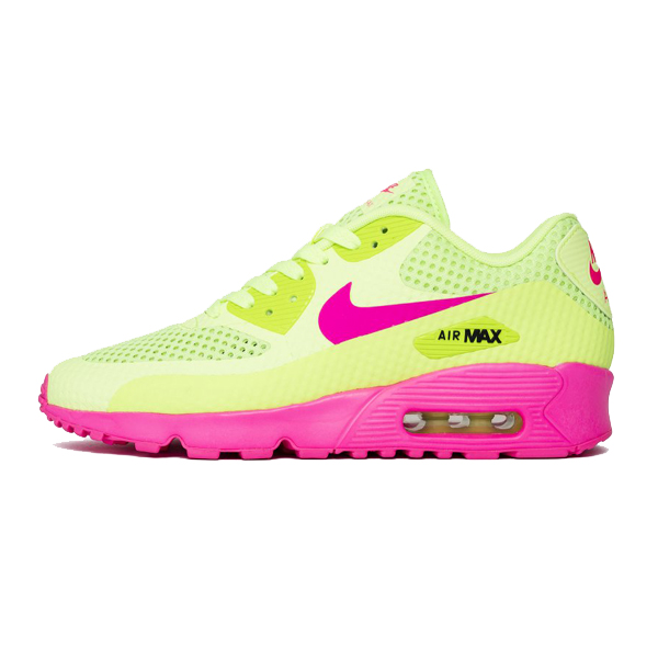 best sneakers b8f21 967e4 Nike Air Max 90 BR (GS) Ghost Green Pink Blast