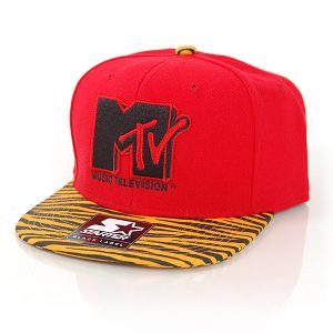 Starter MTV Retro Print SB Red Caps