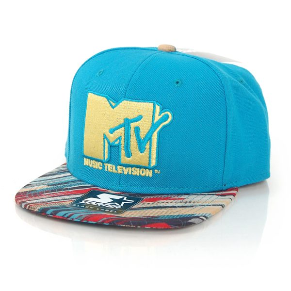 Starter MTV Retro Print SB Tea Yellow