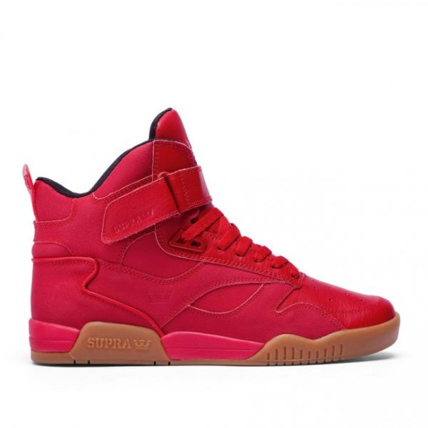 Supra Bleeker Red Gum Sneakers