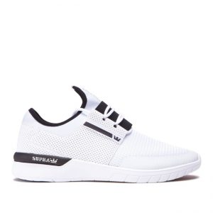 Supra Flow Run White Sneakers