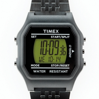 Timex 80 Jumbo Watch Black Star