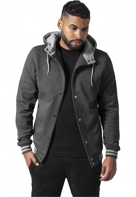Urban Classics Hooded College Sweatjakke