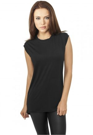 Urban Classics Ladies Wide Viscon Sleeveless Shirt