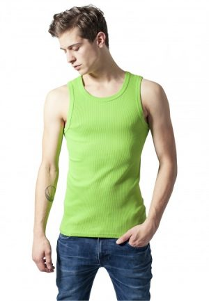 Urban Classics Mens Tanktop lime green