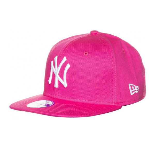 cd9bd2c4f4c Hjem Kids NEW ERA 9FIFTY YOUTH MLB BASIC NEW YORK YANKEES CAP PINK WHITE –  UNI. 🔍. Previous  Next