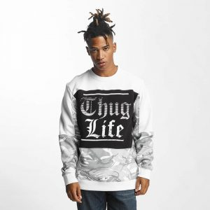 97ae6c722b3 thug-life-pullover-new-life-in-white-51170